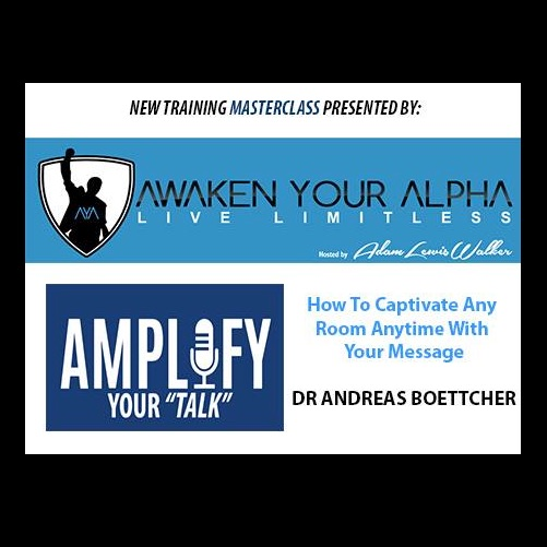 TRAINING #1 Amplify Your Speaking (NEW)