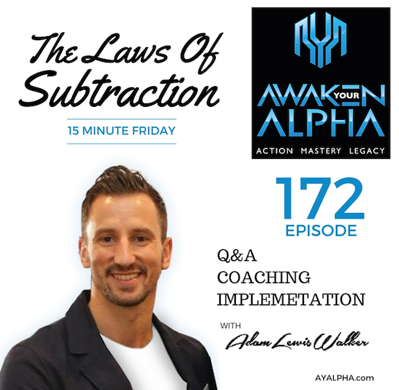 172# The Laws Of Subtraction
