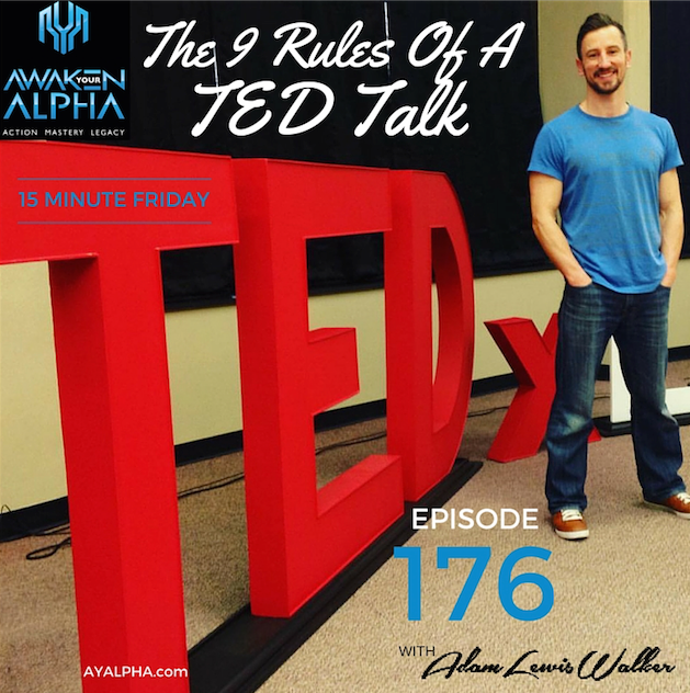 176# The 9 Rules Of A TED Talk
