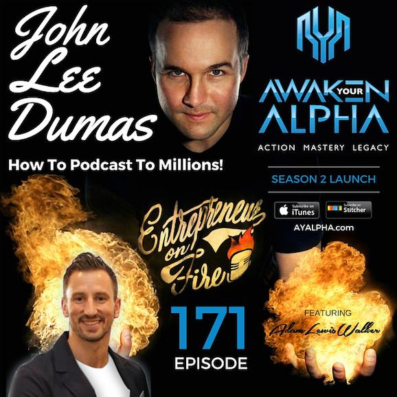 171# How To Podcast To Million$ – John Lee Dumas