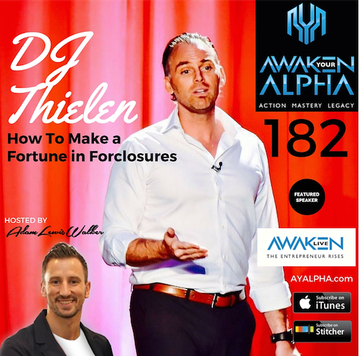 182# DJ Thielen – Fortune In Forclosures!