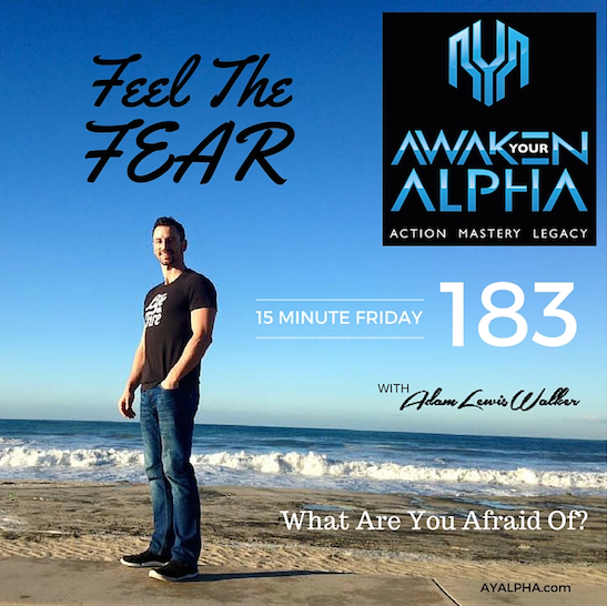 183# Feel The Fear!