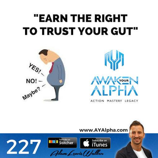 227# Earn The Right To Trust Your Gut