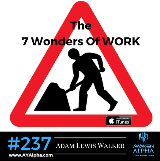 237# The 7 Wonders Of Work