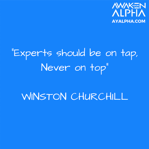 305# Experts on Tap, Not on Top!