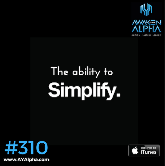 310# The Ability to Simplify