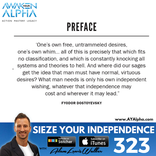 323# Seize Your Independence!