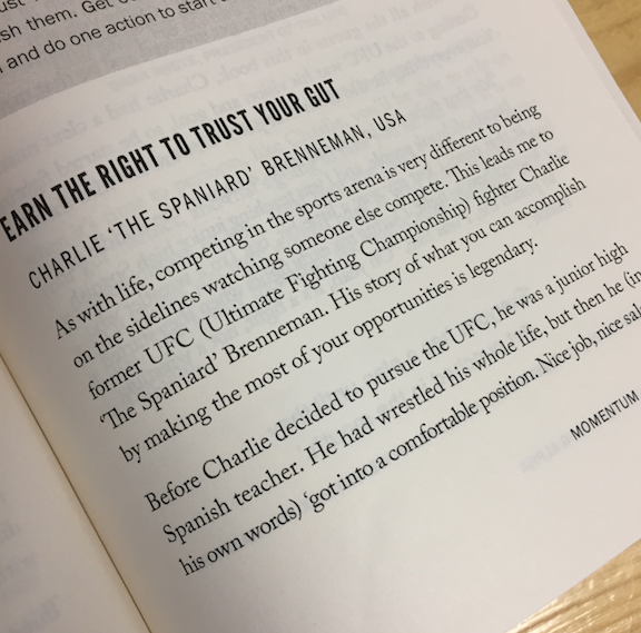 333# BOOK CHAPTER – Earn The RIght To Trust Your Gut