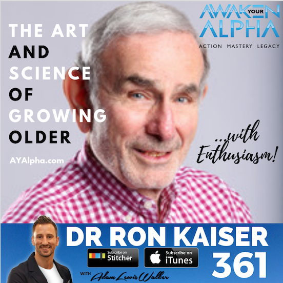 361# REJUVENAGING – The Art & Science Of Growing Older
