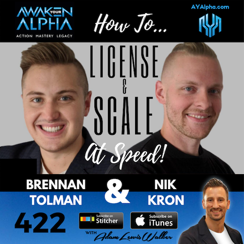 422# How To License and Scale at Speed ($4M+)