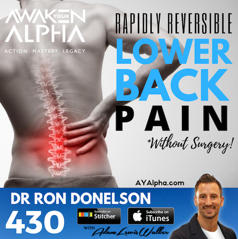 430# Rapid Reversible Lower Back Pain (without Surgery!)