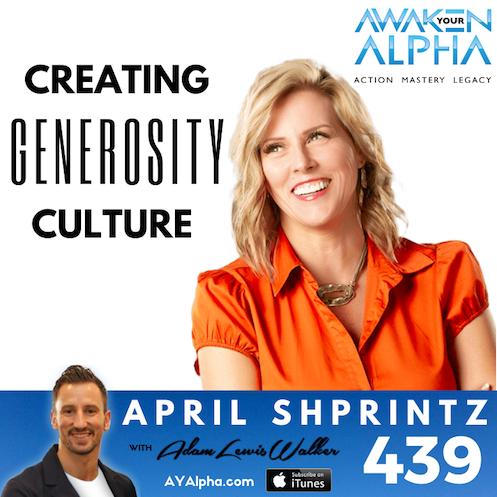 439# Create A Generosity Culture