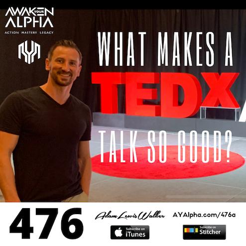 476# What makes a TEDx Talk so good?